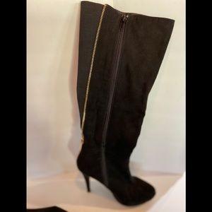 Aldo Suede Stiletto Black Size 7 1/2
